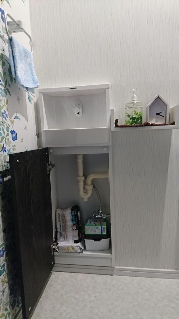 トイレカウンター収納