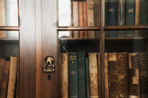 押入れを本棚